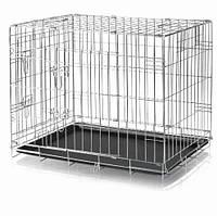 Клетка металлическая для собак Trixie 78х62х55 см (3923)