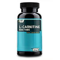 L-Carnitine 500 Tabs Optimum Nutrition 60 таблеток