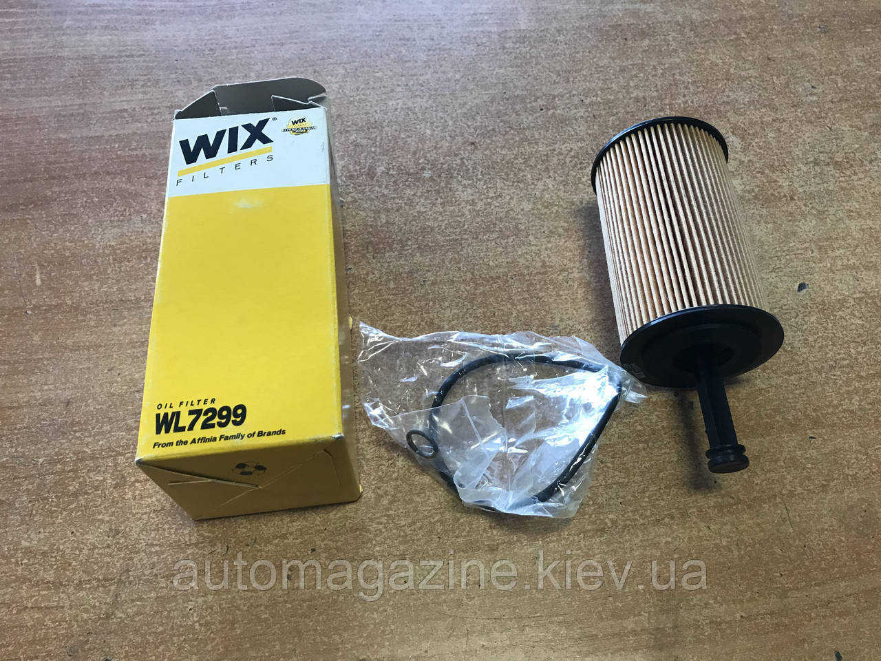 Фільтр масляний WL 7299 (OE667)