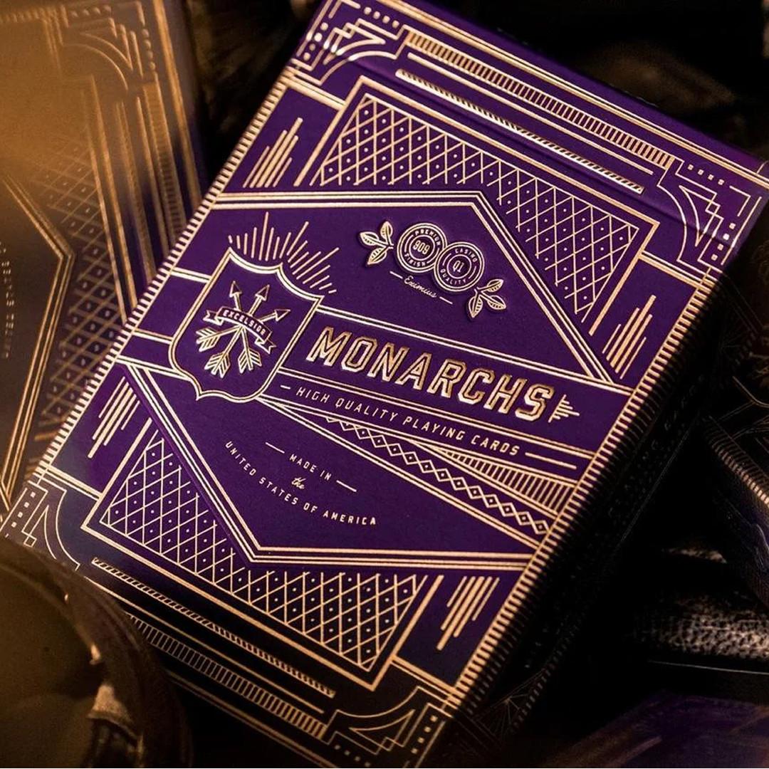 Карты игральные   Monarch Playing Cards (Purple)