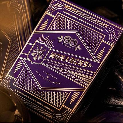 Карты игральные   Monarch Playing Cards (Purple), фото 2
