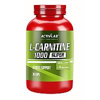 L-Карнітин L-Carnitine 1000 Super Activlab 30 капсул