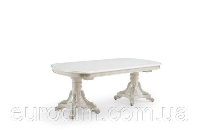 Стол обеденный P22 белый/патина (3,5м), фото 2