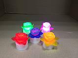 Светильник хамелеон/ ночник с цветной подсветкой Розочка, фото 4