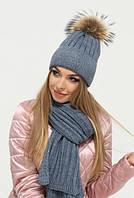 Жіночі шапки, рукавички, шарфи