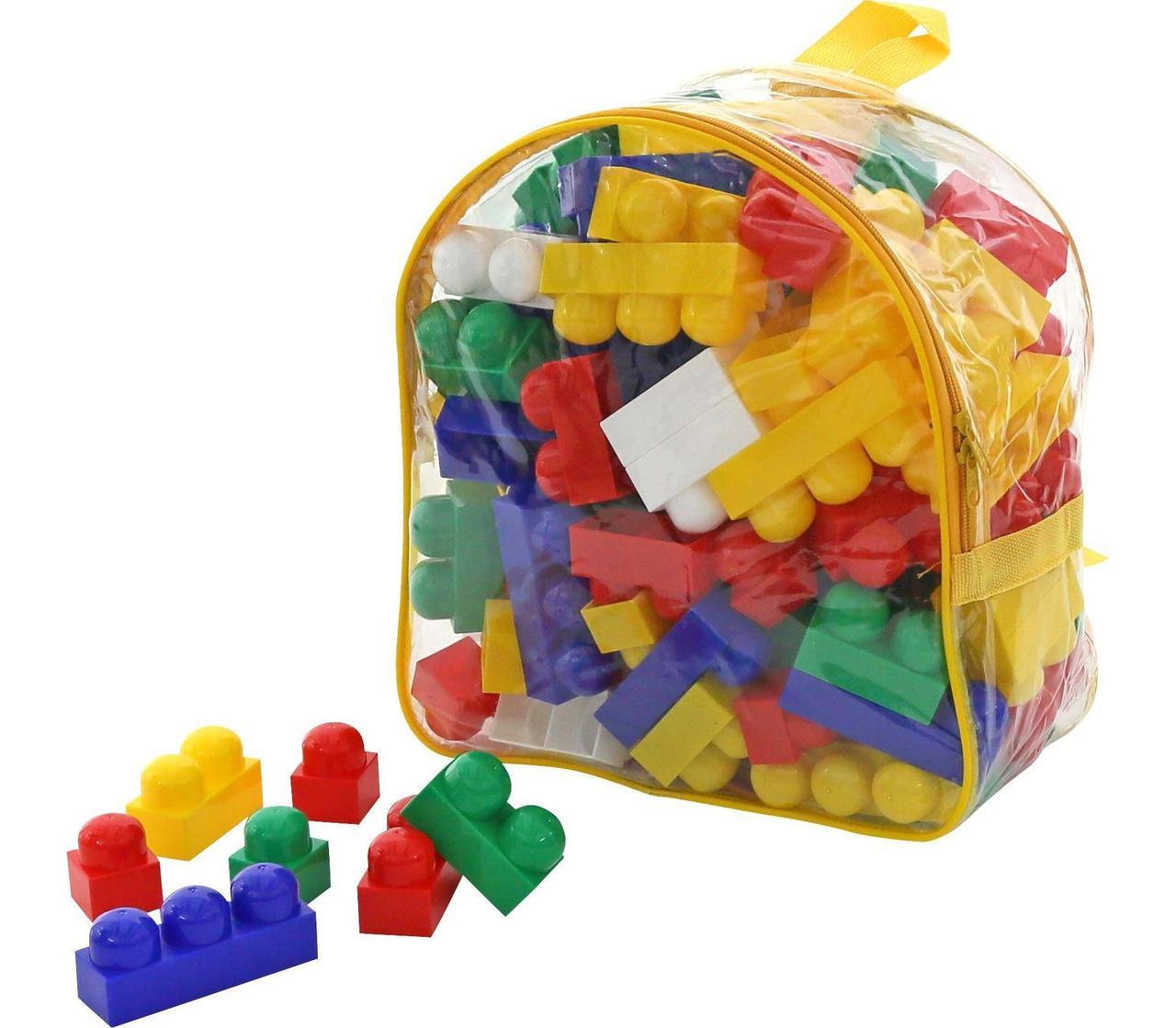 """Конструктор """"Супер-Микс"""" (144 элемента) (в рюкзаке) (Полесье)"""