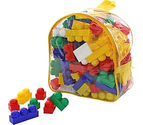 "Конструктор ""Супер-Мікс"" (144 елемента) (в рюкзаку) (Полісся)"