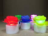 Светильник хамелеон/ ночник с цветной подсветкой Розочка, фото 5