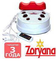 Свинг-Машина и вибромассажер для ног с инфракрасным подогревом Zoryana Рыбка Kms003h Для реабелитации