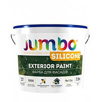Фасадная Краска Jambo SILICONE Акрило-силиконовая 4 кг