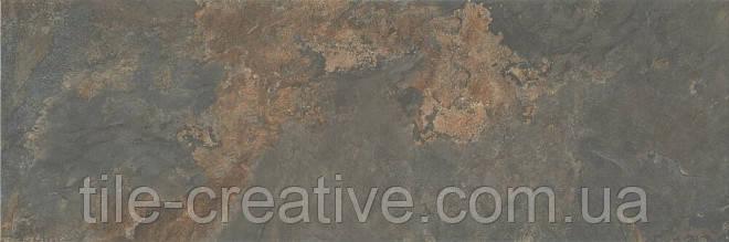 Керамическая плитка Рамбла коричневый обрезной25x75x9 12124R