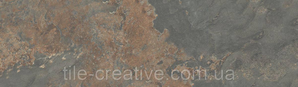 Керамическая плитка Рамбла коричневый 8,5x28,5x6,9 9033