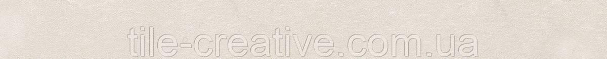 Керамическая плитка Бордюр Рамбла беж обрезной25x2,5x19 SPB005R