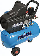 Масляний компресор Miol Циклон 206-24 (1800 Вт, 206 л/хв)