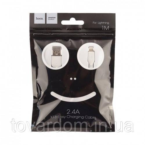 Кабель синхронизации USB Cable Hoco X13 Easy Charged iPhone 6