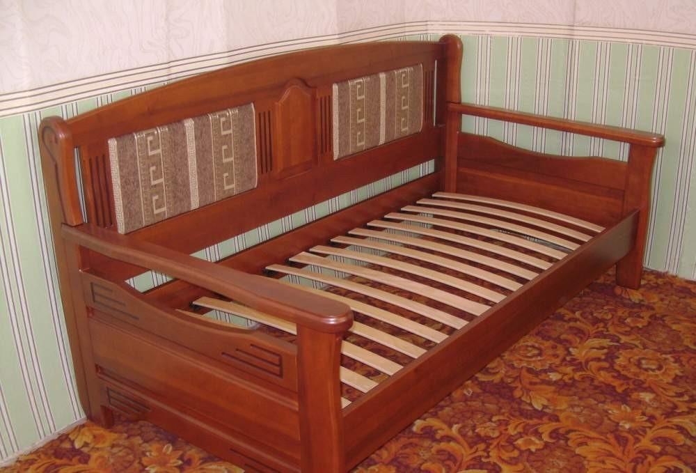 Диван деревянный КРОВАТЬ Центр Орфей 2 ольха