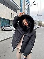 Женская куртка парка (зима)