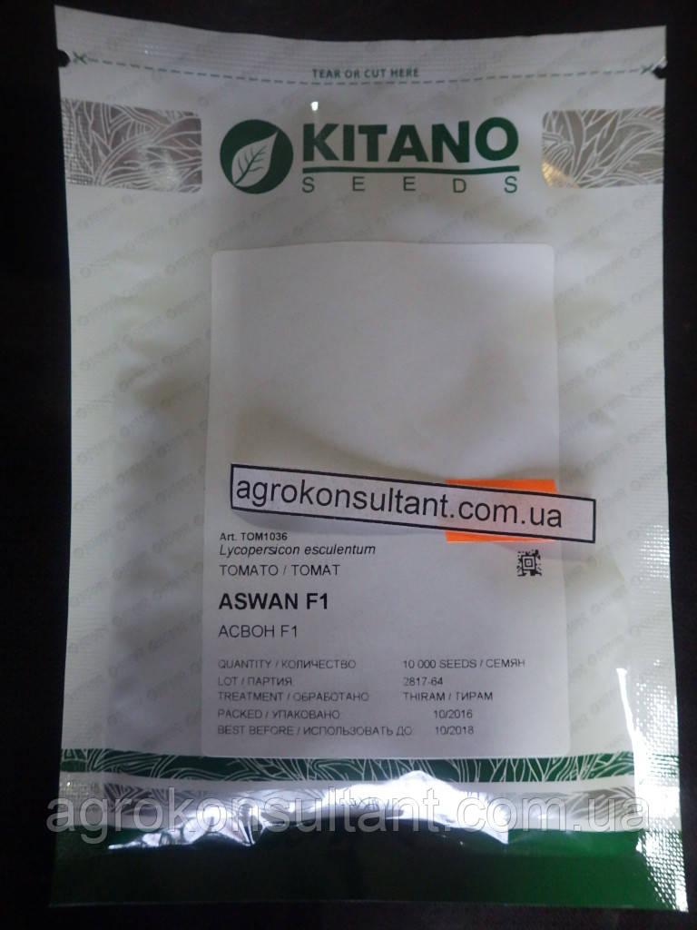 """Насіння томат """"АСВОН F1"""", 10000 сем (10 тис сем), Kitano Seeds, детермінантний, ранній."""