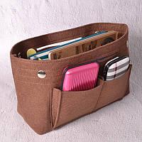 Компактный органайзер для сумки Fresh brown