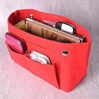 Компактный органайзер для сумки Fresh red