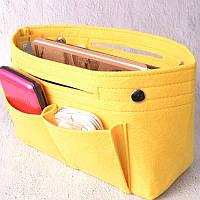 Компактный органайзер для сумки Fresh yellow