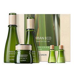 Набор увлажняющий с экстрактом новозеландского льна The Saem Urban Eco Harakeke Skin Care 3 Set