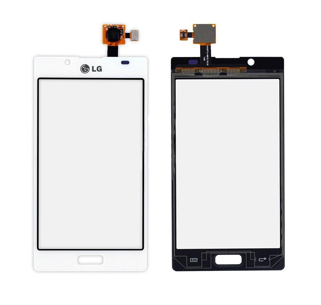 Сенсор (Тачскрин) для LG P700 | P705 | Optimus L7 (Белый) Оригинал Китай