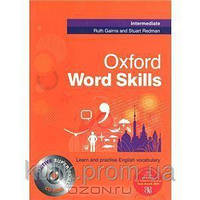 Oxford word skills intermediate: student`s pack (book and cd-rom)