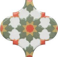 Керамическая плитка Декор Арабески Майолика орнамент6,5x6,5x7 OS\A40\65000