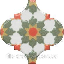 Керамічна плитка Декор Арабески Майоліка орнамент6,5x6,5x7 OS\A40\65000