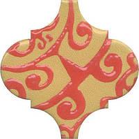 Керамическая плитка Декор Арабески Майолика орнамент6,5x6,5x7 OS\A39\65000