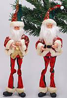 Новогодняя игрушка Санта 36см, 2 вида, BonaDi NY14-284