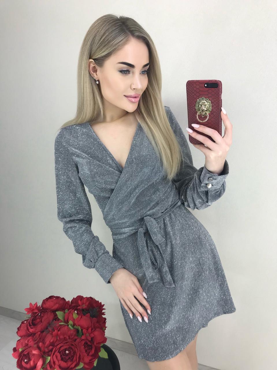 Платье люрекс блеск