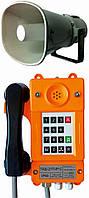 Общепромышленный телефонный аппарат с номеронабирателем и громкоговорящей связью ТАШ-21П-IP-С