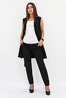 (S, M, L, XL) Жіночий чорний брючний костюм