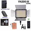 Комплект постоянного накамерного видеосвета, LED панель Yongnuo YN-300 III (5500K)