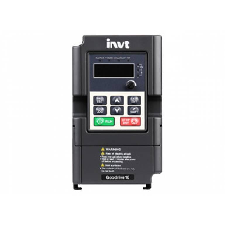Преобразователь частоты GD10-0R2G-S2 0.2кВт Вх:1-ф/220В | Вых:3-ф/220В  для Трехфазных электровигателей