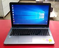 """Ноутбук ASUS a541u  15.6"""" Intel Core i5 2,3 GHz 8 GB RAM 128 GB SSD Silver Б/У"""