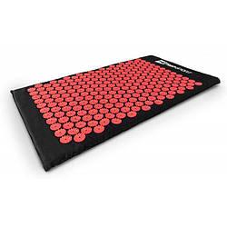 Коврик акупунктурный 70х41 HS-C072AM red Мат для акупунктуры массажный