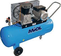 Масляний компресор клинопасової Miol 81-195 (2200 Вт, 500 л/хв)