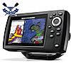 Двухлучевой эхолот картплоттер HUMMINBIRD HELIX 5 Chirp GPS G2 поддержка карт и слот д/карты памяти, до 450 м, фото 3