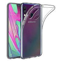 Прозрачный силиконовый чехол для Samsung Galaxy A10s 2019 A107