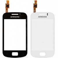 Touchscreen (сенсорный экран) для Samsung Galaxy Mini 2 S6500, оригинал, черный