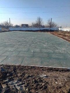 Резиновое покрытие 30 мм в стадии монтажа 850 кв.м.