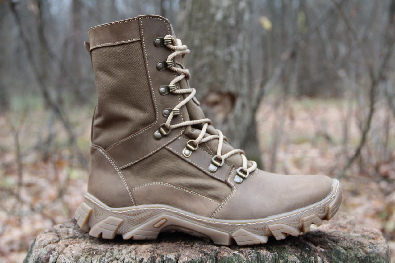 Ботинки берцы зимние из натуральной кожи и меха RZW 5154-11-4