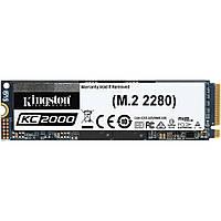 Твердотельный накопитель M.2 500Gb, Kingston KC2000, PCI-E 4x, 3D TLC, 3000/2000 MB/s (SKC2000M8/500G)