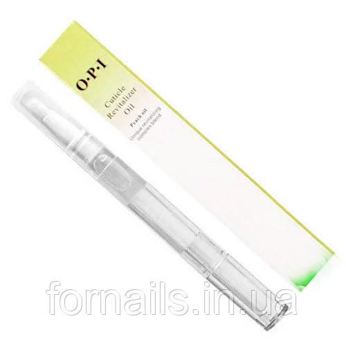 Масло для кутикули в олівці OPI, лимон