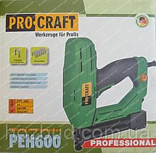 Степлер электрический Procraft PEH600 (скобы и гвозди)