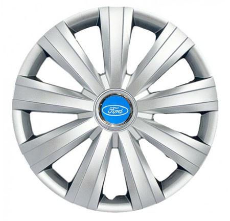 "Колпаки для колес 15"" c логотипом автомобиля 4 шт (SKS 328) Форд"