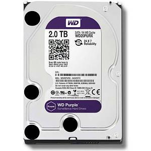 Жесткий диск Western Digital Purple 2TB 64MB WD20PURX